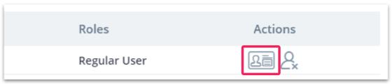 Organization settings: Users