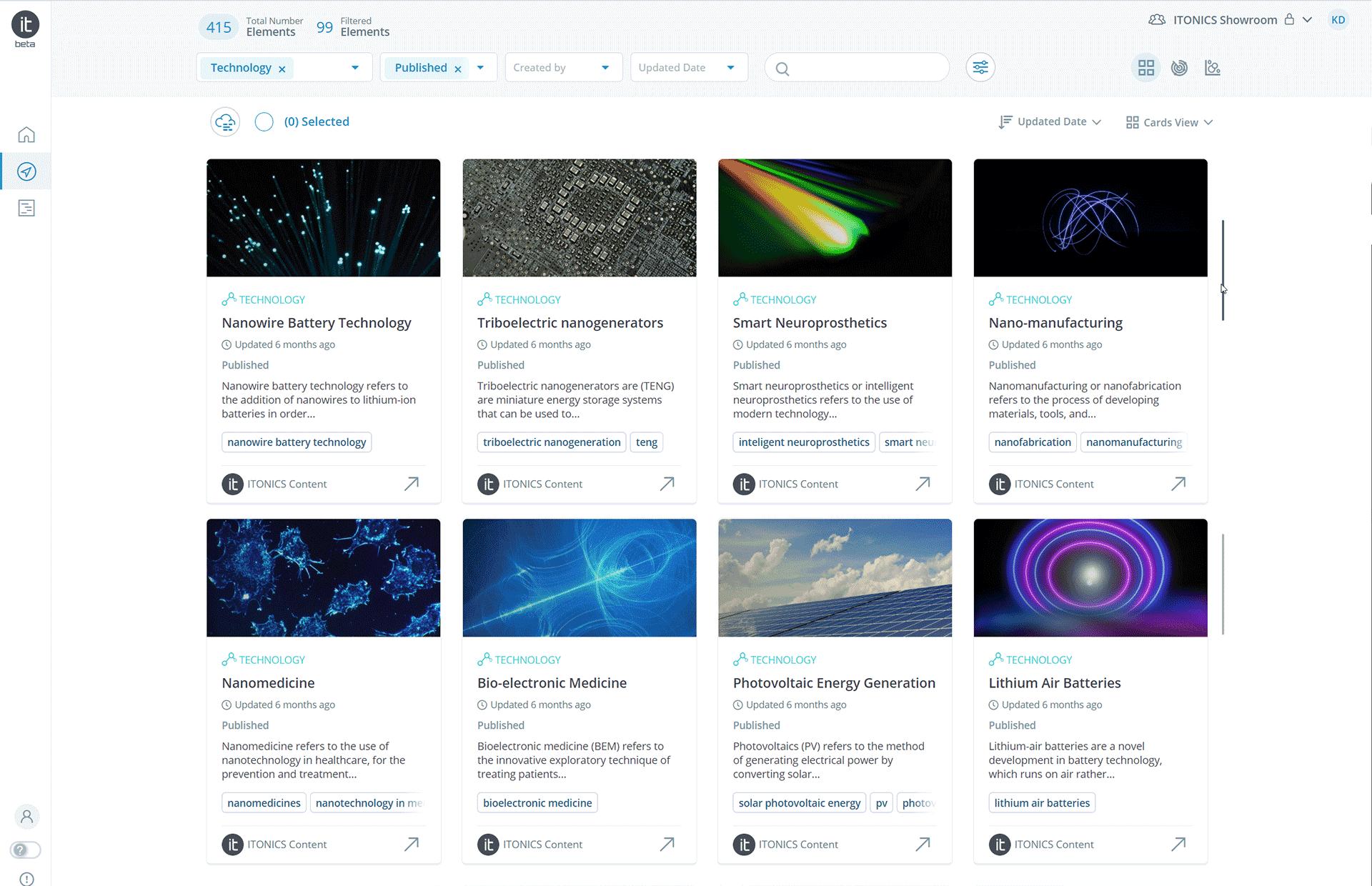 Votre propre base de données sur les technologies et les brevets