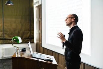 Magnus Boman at AI-enabled Tech Foresight Summit Berlin