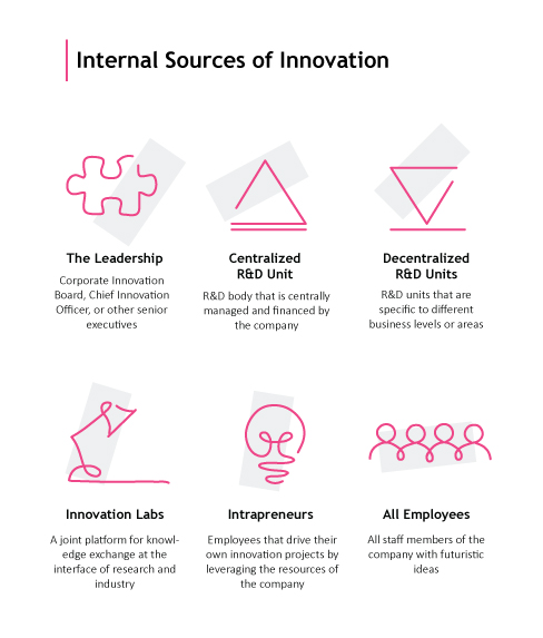 Digital Innovation Strategy: Internal Sources of Innovation