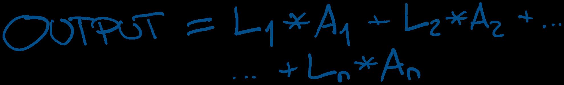 The Output Equation