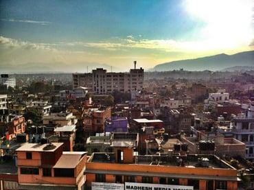 Overview Kathmandu from ITONICS Office