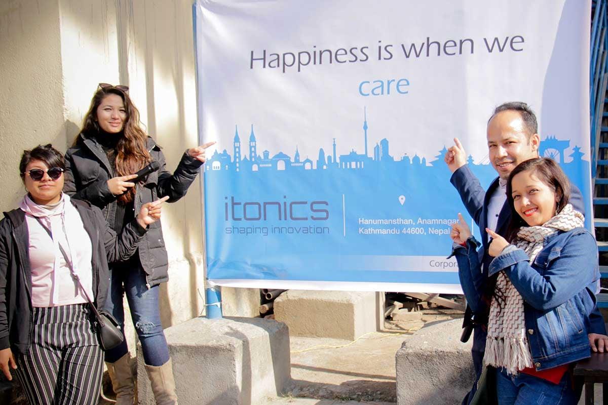 ITONICS Charity Event in Kathmandu