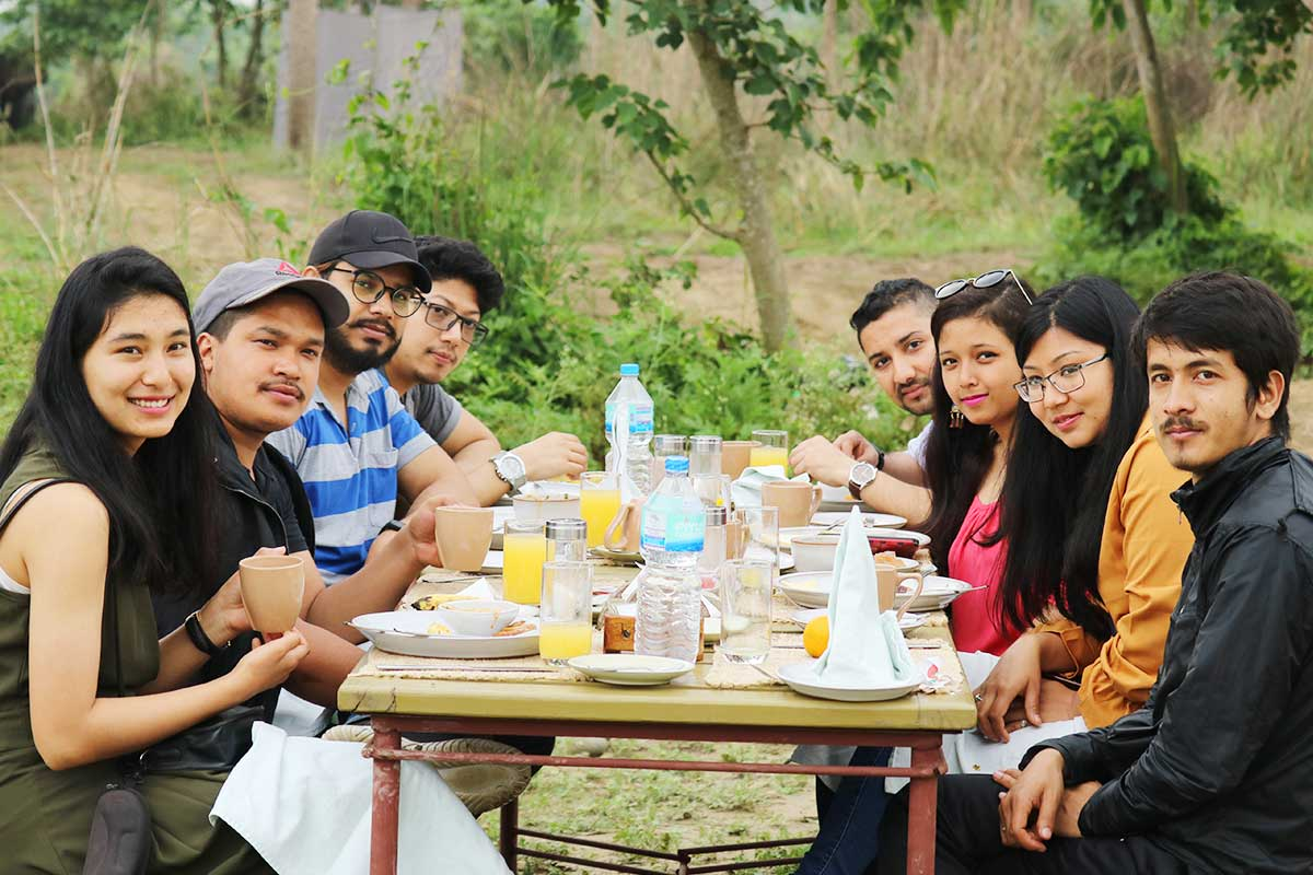 Team Lunch at ITONICS Nepal