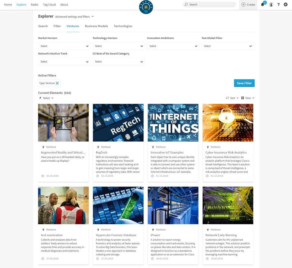 Cisco Innovate Everywhere Challenge Ventures