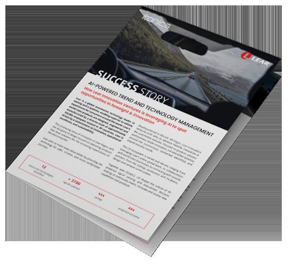 Lear Innovation Case Study