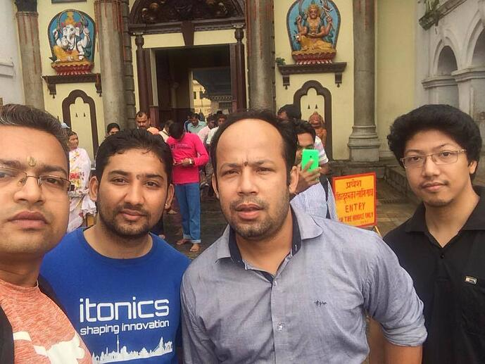 ITONICS Supporting the Community in Nepal