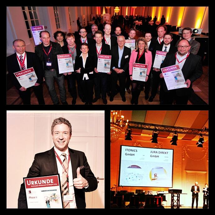 Top10 at the North Bavarian Business Plan Competition - ITONICS