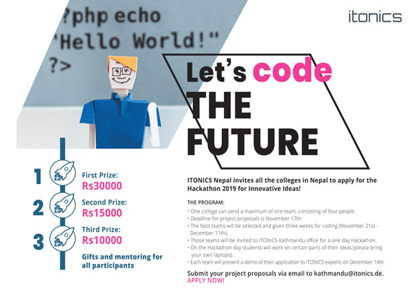 Hackathon Innovation ITONICS Kathmandu