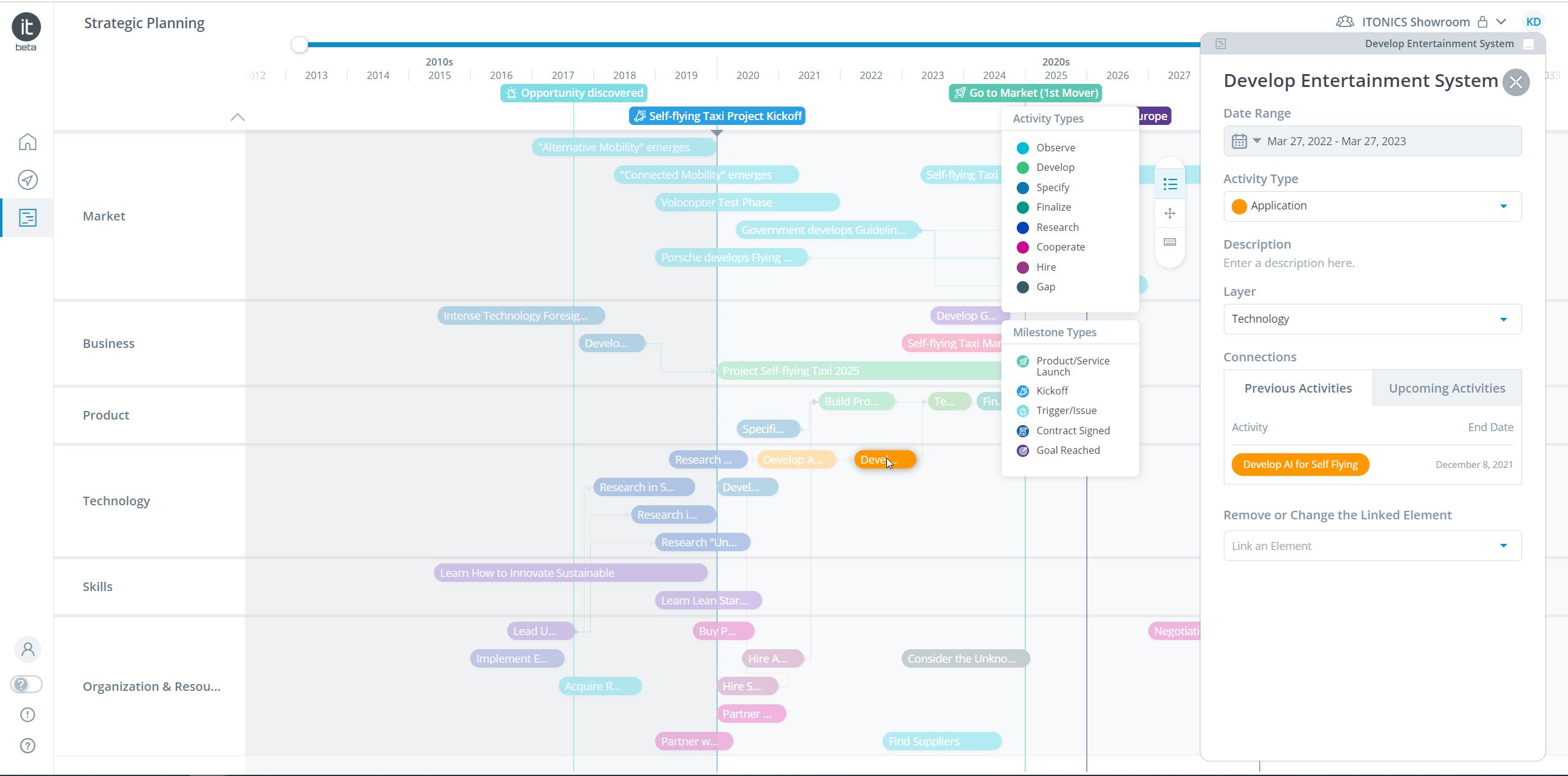 Roadmap Milestones & Data Export