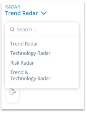 Radar configuration