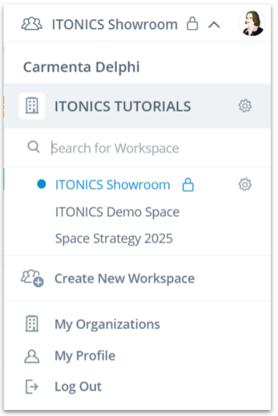 Choose workspace