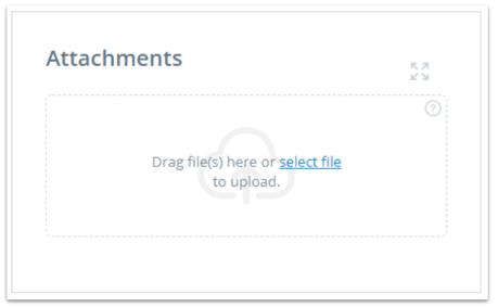 Element - upload attachment