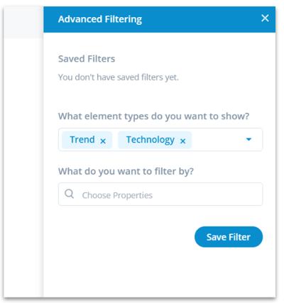 Explorer - Advance filter