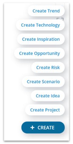 Explorer - create element