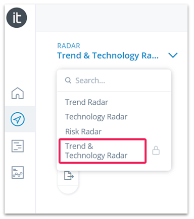 Trend and Technology Radar