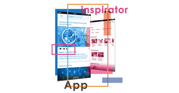 Inspirator App Illustration