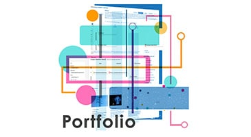 Portfolio Management Software Illustration