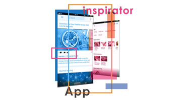 Inspirator App Illustration